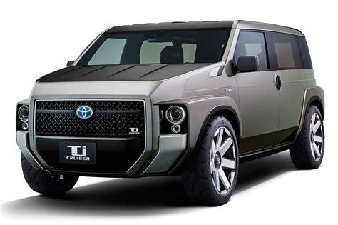van toyota toyota s toolbox concept sport utility minivan