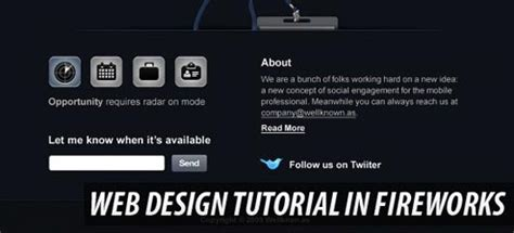 web layout tutorial pdf how to use fireworks as professionals tutorials