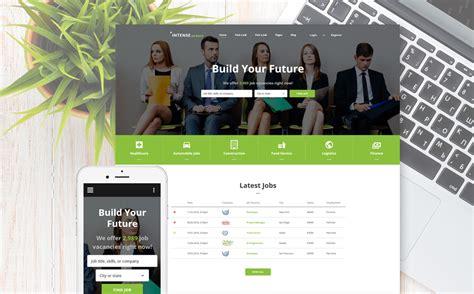 drupal theme job board employment responsive web template
