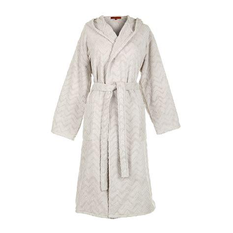 bathroom robes buy missoni home rex hooded bathrobe 21 amara