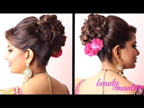 puff hairstyles for party hairstyle messy bun with clean puffs youtube