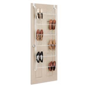 Closet Door Storage Racks The Door Shoe Rack White In The Door Shoe Racks