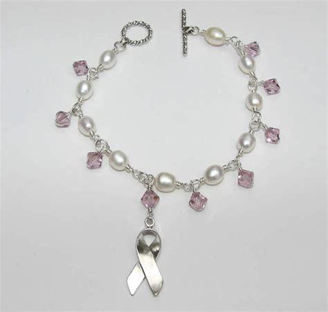 bridal cancer support bracelet