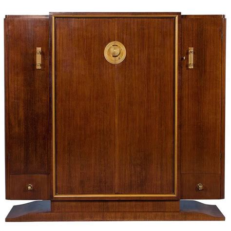 rosewood armoire french art deco rosewood armoire for sale at 1stdibs
