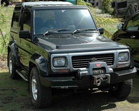 Ram Feroza poleng 1996 daihatsu rocky specs photos modification