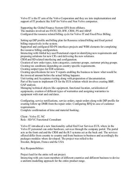 Sle Resume For Sap Hr Fresher 100 Sap Hr Consultant Fresher Resume Popular