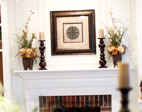 How To Decorate A Mantel by How To Decorate A Fireplace Without Mantle Fireplace