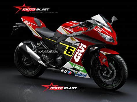 Topeng Kawasaki Ninja250 Fi V3 250r fi livery stevan bradl 2 motoblast
