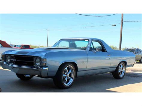 chevrolet el camino for sale 1971 chevrolet el camino for sale classiccars cc