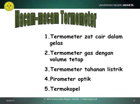 Termometer Gelas termodinamika 4 b konsep temperatur