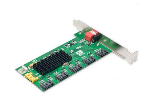 sata port multiplier card syba sy pci40037 5x1 sata ii port multiplier pci mounting