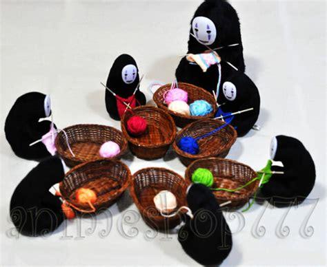 Karpet Karakter 12cm studio ghibli spirited away kaonashi no faceless knit