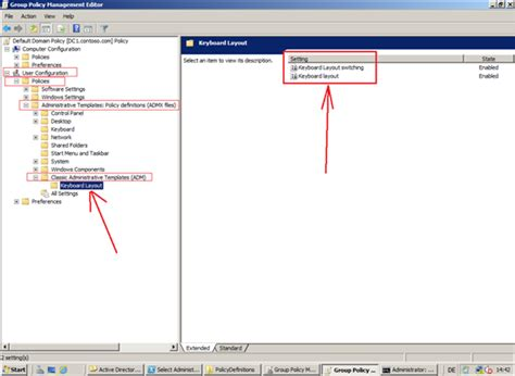 keyboard layout via gpo how to set the keyboard layout through group policy gpo