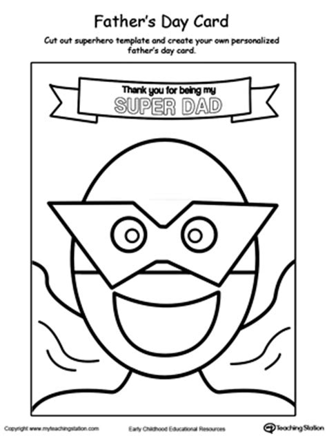 s day card arts and crafts template preschool and colors printable worksheets