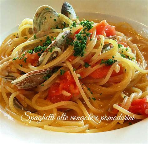 cucinare le vongole veraci spaghetti alle vongole e pomodorini i sapori di casa