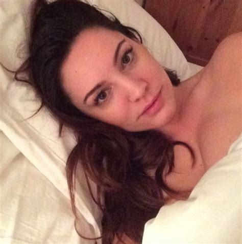 selfie in bed kelly brook looks stunning even when sick and with no