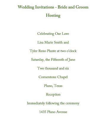 wedding invitation wording from groom wedding invitations groom hosting wording free geographics templates