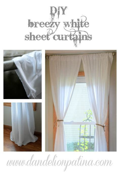 how to make curtains from sheets quick and easy how to make curtains from sheets quick and easy curtain