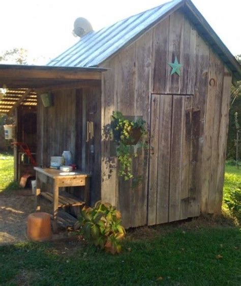 Garden Shed With Awning by 25 Best Ideas About Rustic Shed On Garden