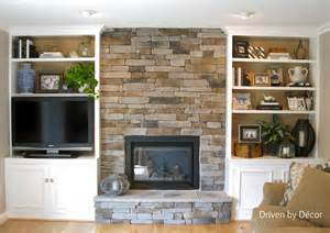 Stone Around Fireplace built ins around stone fireplace home sweet home pinterest
