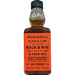 hochstadter s slow low 100 proof rock and rye review the whiskey reviewer