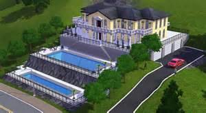 How To Build A Pool House by Sims 3 Villa De Monaco Architecture Maison House Jeu