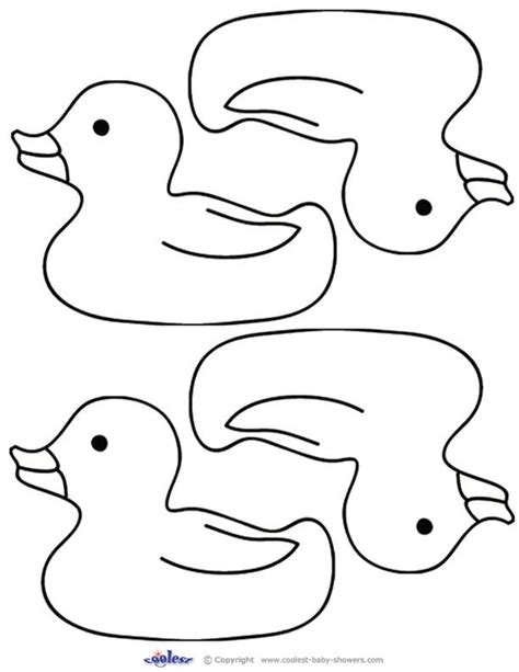 duck template rubber ducky onsie template