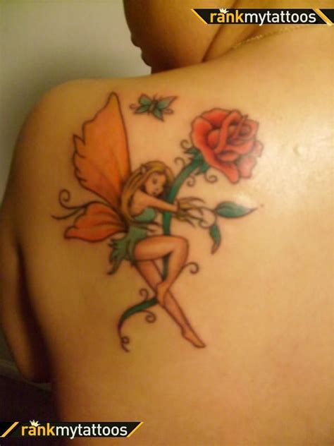 fairy and rose tattoo 17 best images about tattoos on daisies
