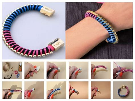 how to make rope jewelry diy rope bracelet
