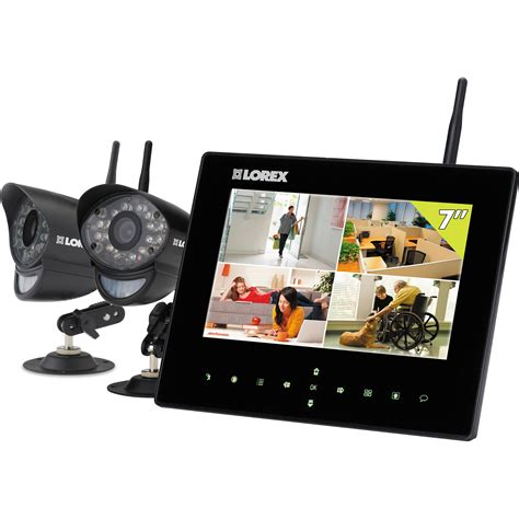 lorex by flir sd7 wireless monitoring system lw2732 b h