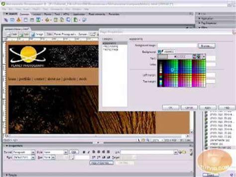 tutorial membuat web youtube tutorial dreamweaver indonesia membuat web dasar video