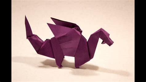 origami dragon  edwin corrie yakomoga origami tutorial youtube
