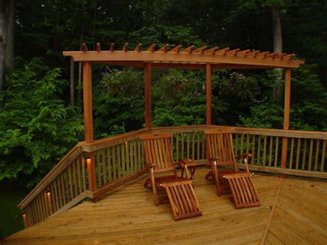 Trellis Designs For Decks cedar trellis on deck traditional patio dc metro by northern deckworks