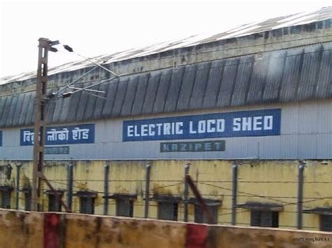 Electric Loco Shed Vadodara kazipet electric loco shed view from bangalore nzm