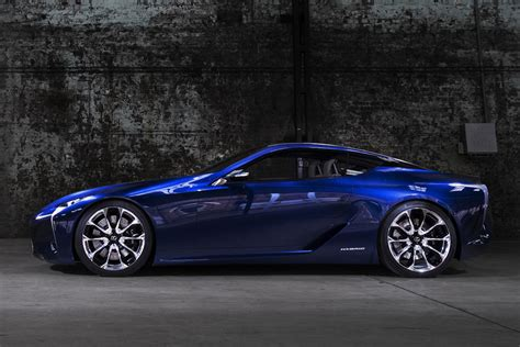 lexus lf lc price lexus lf lc concept headed to production