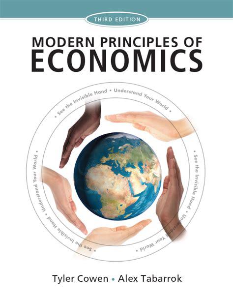 modern principles microeconomics books modern principles 3rd ed marginal revolution
