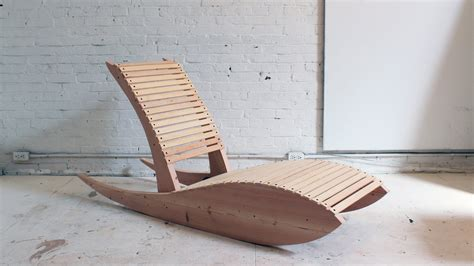 How To Build Lounge Chair by Diy Rocking Lounge Chair 1 0