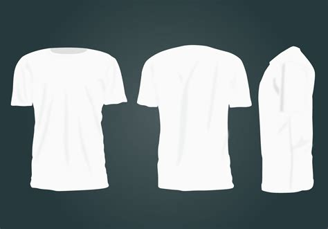 T Shirt Template Vector by Blank T Shirt Template Vector Free Vector