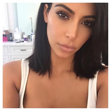 kimkardashian short hair kim kardashian s new short hair obsessed mystylebell
