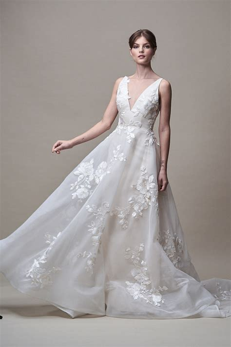 Fall Wedding Dresses by Yoo Bridal Wedding Dress Collection Fall 2018 Brides