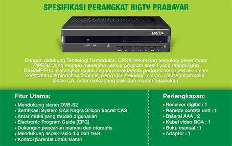 Digital Matrix Big Tv Jual Receiver Matrix Big Tv Parabolaku