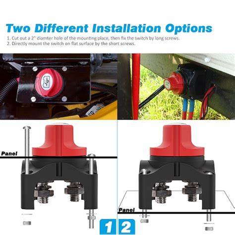 boat battery disconnect car accessories list battery disconnect switch online auto