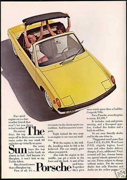 vintage porsche ad vintage car advertisements of the 1970s page 5
