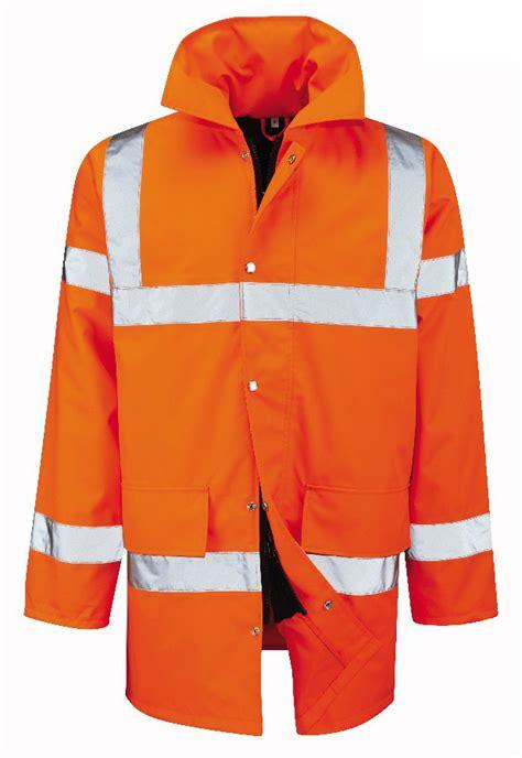 Waterproof Quilt by Mens 3 4 Jacket Hi Vis Waterproof Quilt Lined High