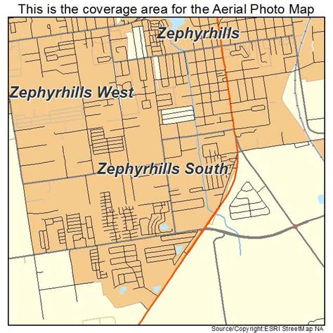 map of zephyrhills florida area aerial photography map of zephyrhills south fl florida