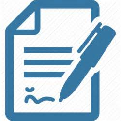 business document contract file icon icon search engine
