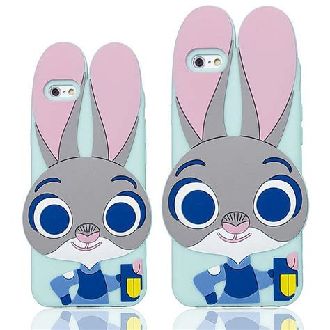 Samsung Galaxy A310 2016 3d Soft Silicon Rubber Cover Tpu Casing Armor 3d zootopia judy animal city soft silicone rubber
