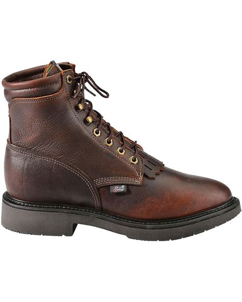 lace up work boots jow s justin original 6 quot lace up work boot 770