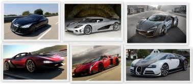 the most expensive cars in the world for 2017 infographic