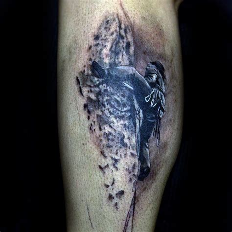 climbing tattoos 60 rock climbing tattoos for climber design ideas
